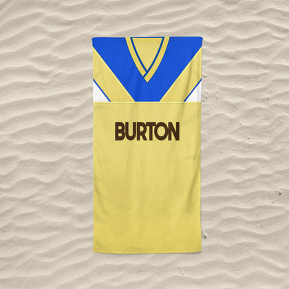 LEEDS BEACH TOWEL 1986 AWAY - TheRetroHut