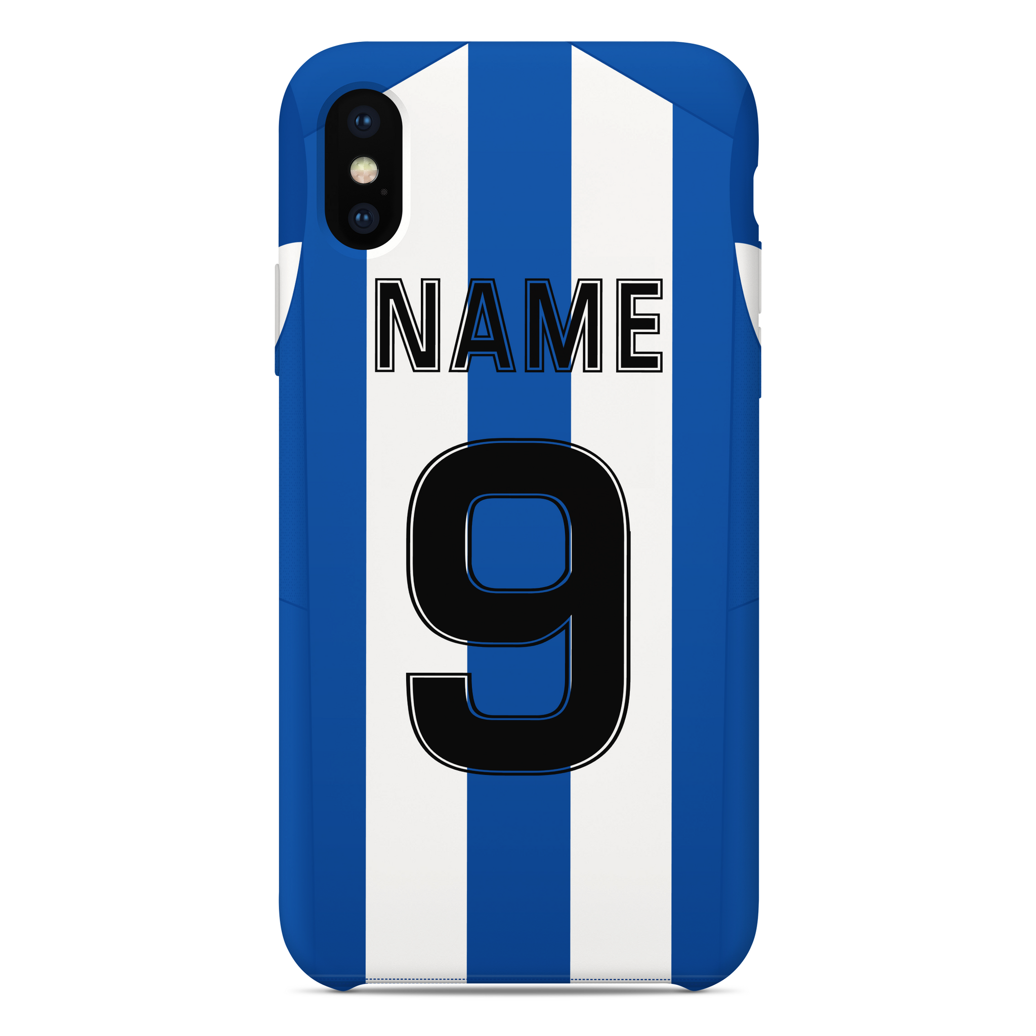 BEESTON JUNIORS OFFICIAL PHONE CASE BLUE/WHITE BACK