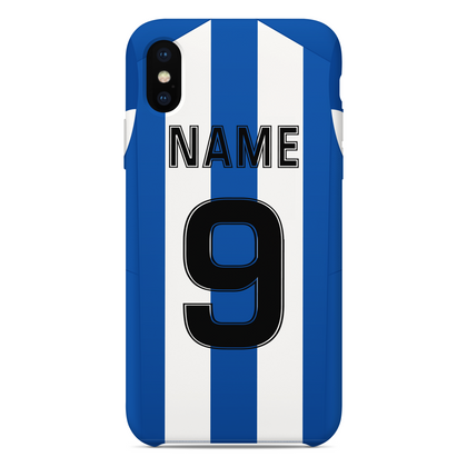 BEESTON JUNIORS PHONE CASE BLUE/WHITE BACK - TheRetroHut