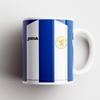 BEESTON JUNIORS CERAMIC MUG BLUE/WHITE