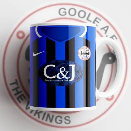 OFFICIAL GOOLE AFC CERAMIC MUG AWAY - TheRetroHut