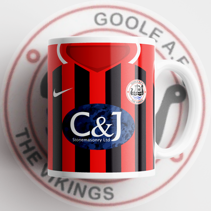 OFFICIAL GOOLE AFC CERAMIC MUG HOME - TheRetroHut