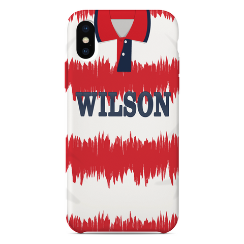 HAMILTON ACADEMICAL 1993 HOME KIT RETRO PHONE CASE - TheRetroHut
