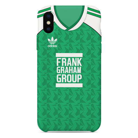 HIBERNIANS 1989 HOME KIT RETRO PHONE CASE - TheRetroHut