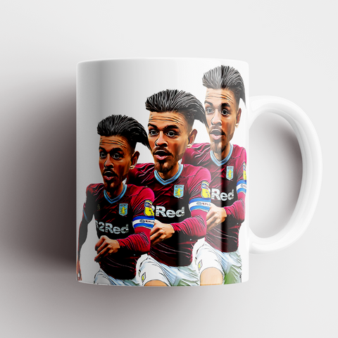 Jack Grealish Caricature Mug