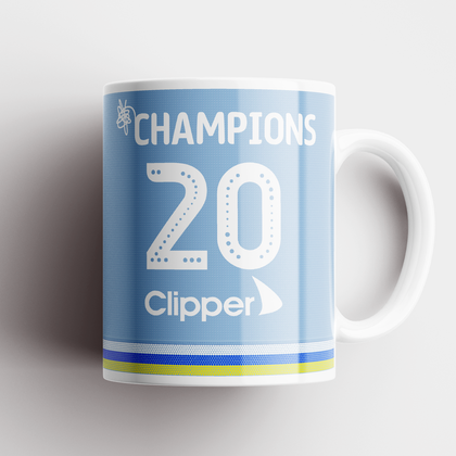 LEEDS INSPIRED CHAMPIONS CERAMIC MUG 2020 THIRD - TheRetroHut