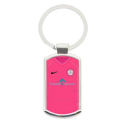 LS27 FC METAL KEYRING ONWARDS & UPWARDS - TheRetroHut