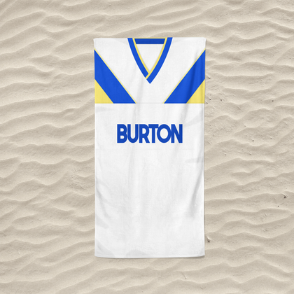 LEEDS BEACH TOWEL 1986 HOME - TheRetroHut