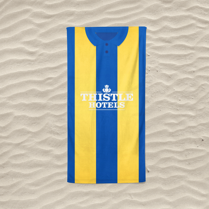 LEEDS BEACH TOWEL 1994 AWAY - TheRetroHut