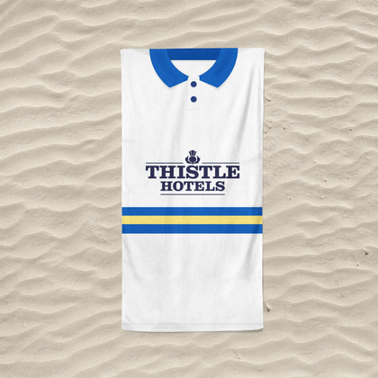 LEEDS BEACH TOWEL 1994 HOME - TheRetroHut