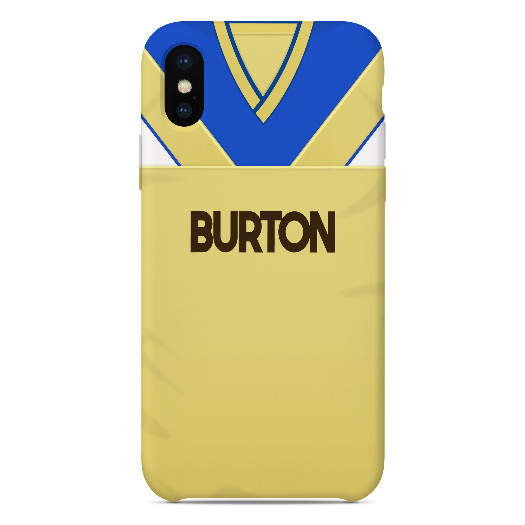 LEEDS PHONE CASE 1986 AWAY