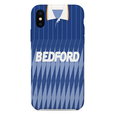 LUTON TOWN 1989 AWAY KIT RETRO PHONE CASE - TheRetroHut