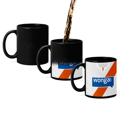 BLACKPOOL INSPIRED MAGIC MUG 2013 AWAY - TheRetroHut