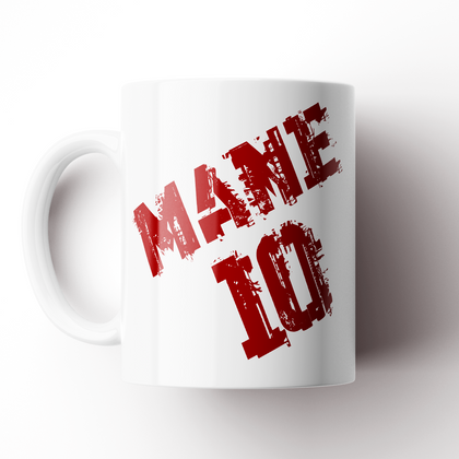 SADIO MANE INSPIRED CARICATURE CERAMIC MUG - TheRetroHut