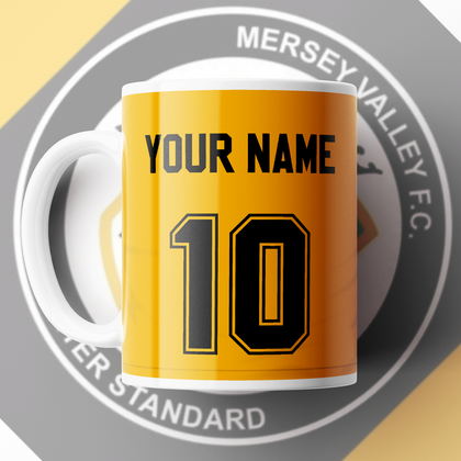 MERSEY VALLEY FC OFFICIAL CERAMIC MUG