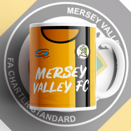 MERSEY VALLEY FC OFFICIAL CERAMIC MUG - TheRetroHut