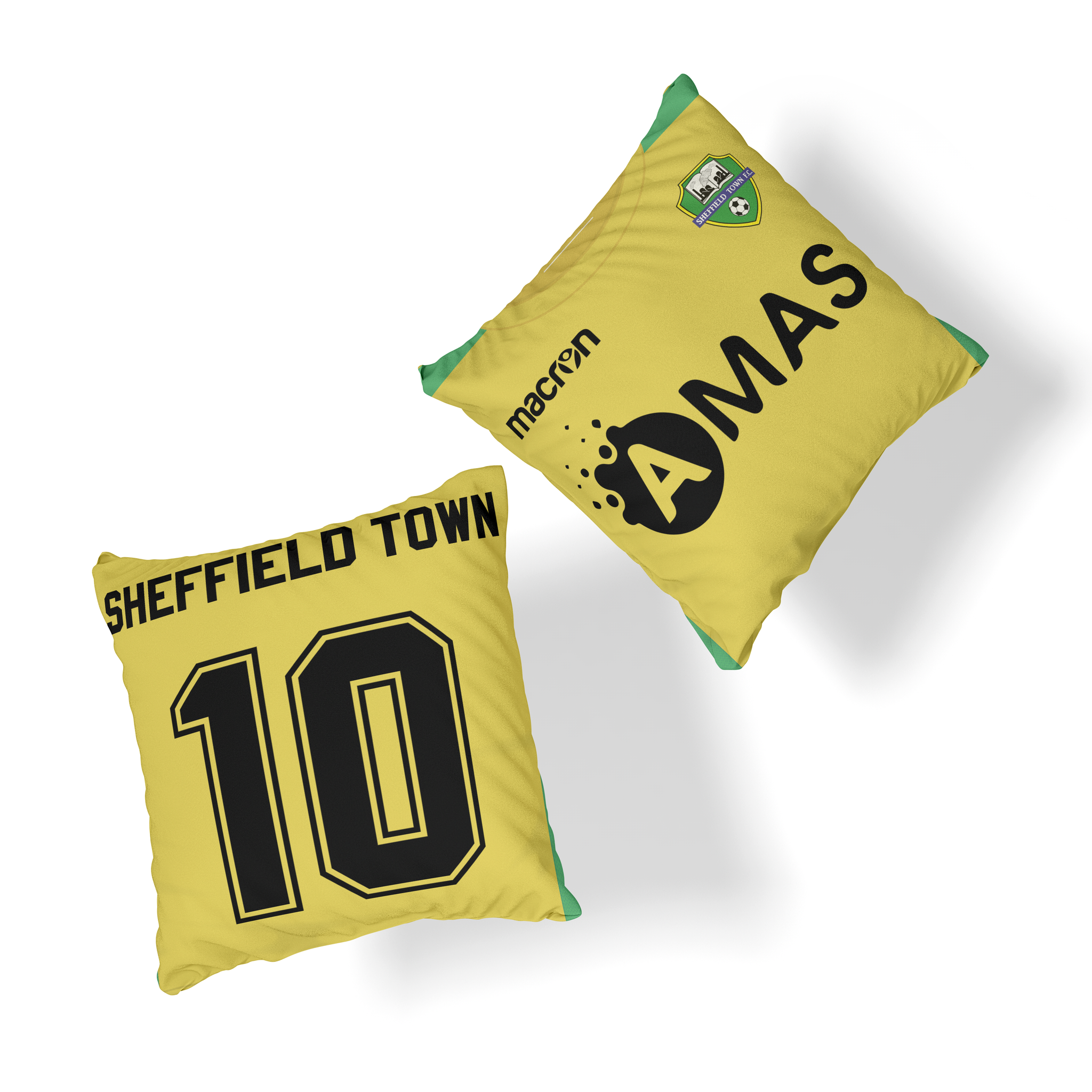 SHEFFIELD TOWN OFFICIAL CUSHION HOME