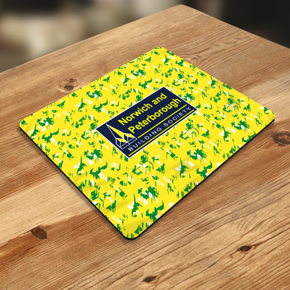 NORWICH MOUSE MAT 1992 HOME - TheRetroHut