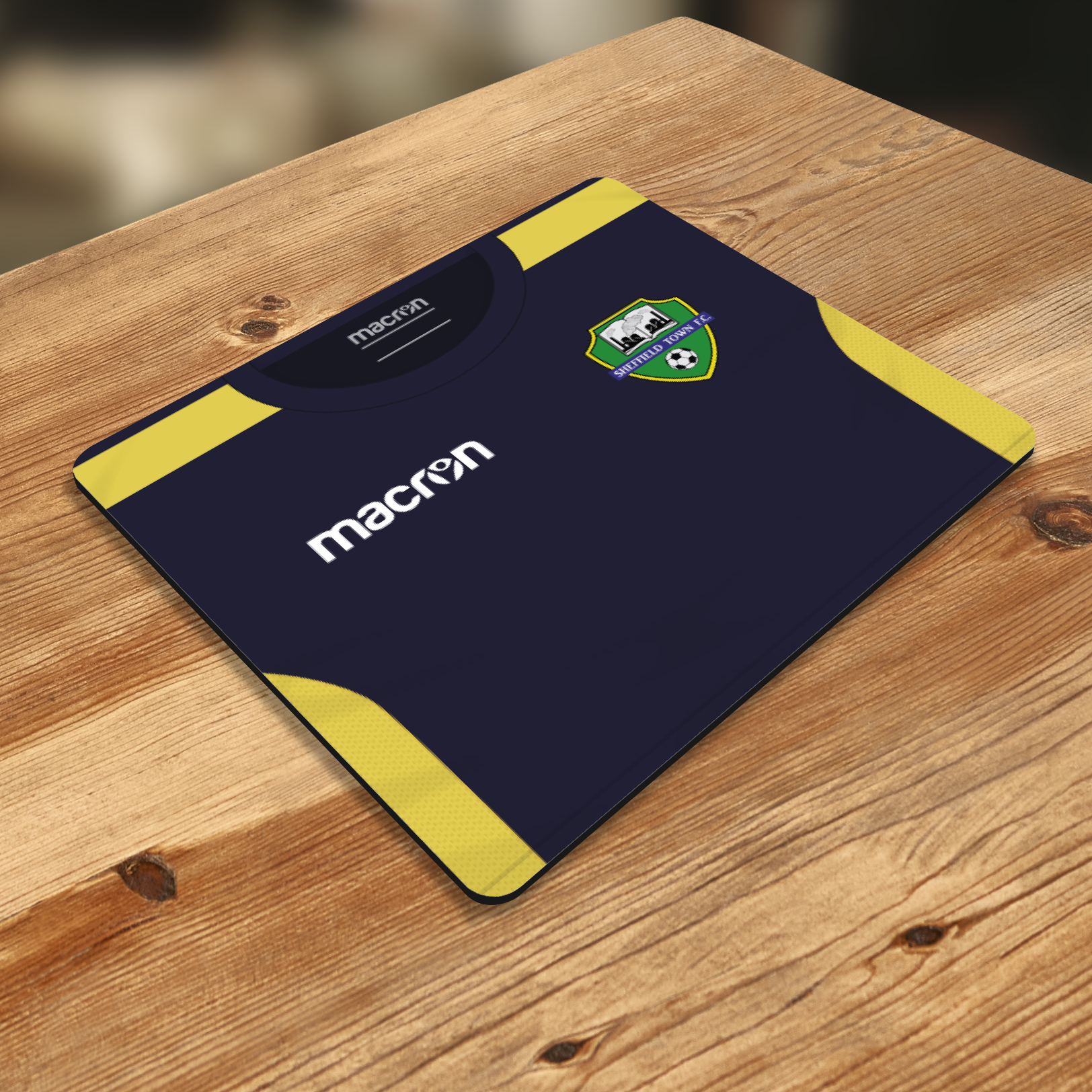 SHEFFIELD TOWN MOUSE MAT AWAY