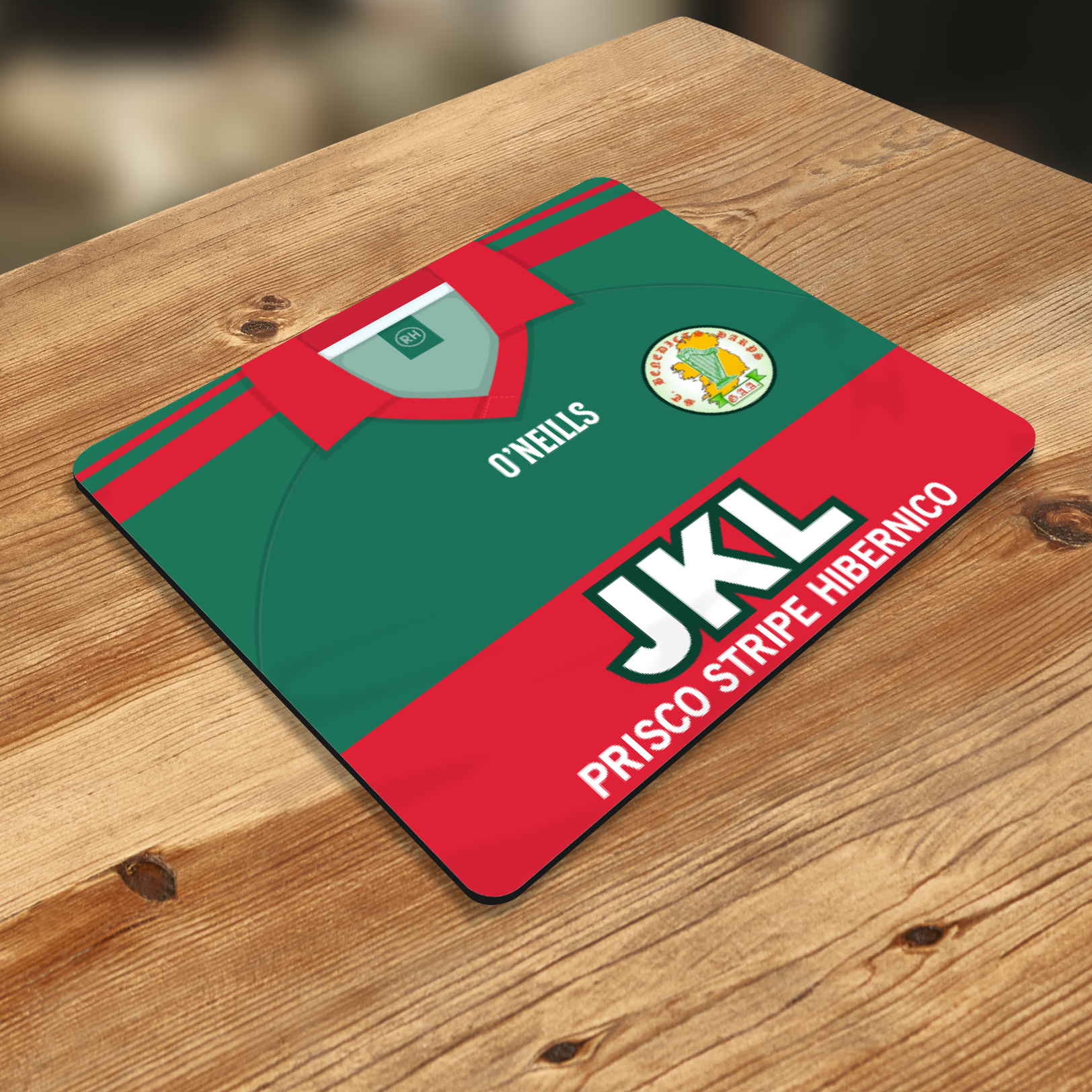ST BENEDICTS HARPS OFFICIAL MOUSE MAT