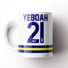 TONY YEBOAH CARICATURE CERAMIC MUG