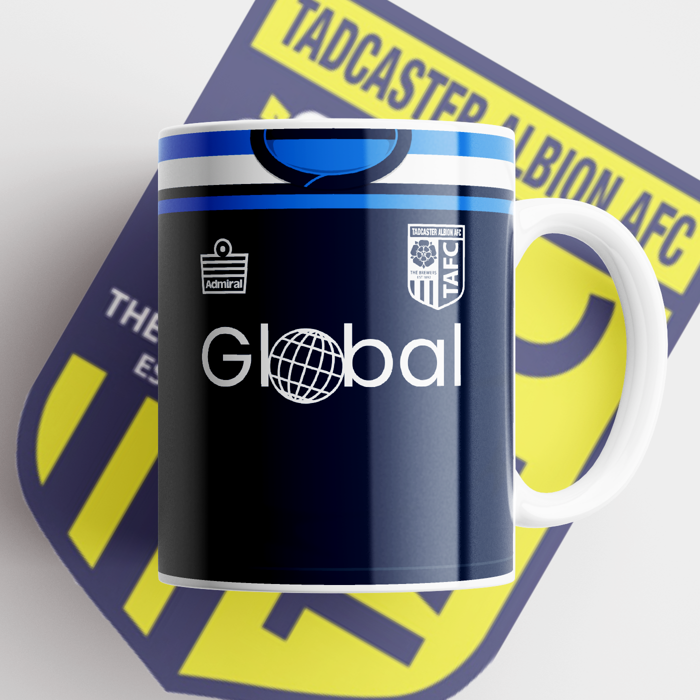 TADCASTER ALBION OFFICIAL CERAMIC MUG AWAY