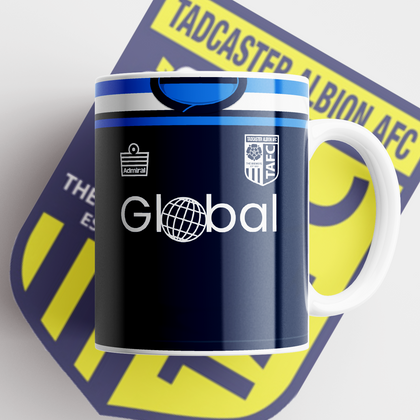 TADCASTER ALBION OFFICIAL CERAMIC MUG AWAY - TheRetroHut