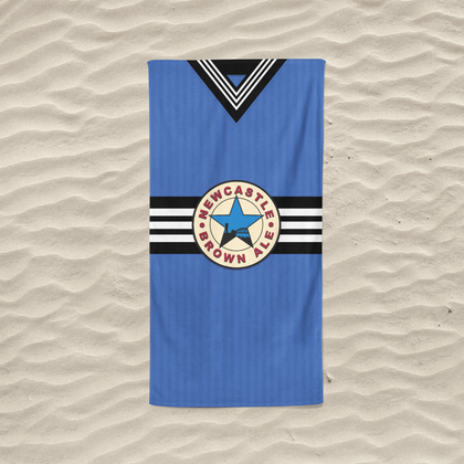 NEWCASTLE BEACH TOWEL 1997 AWAY - TheRetroHut