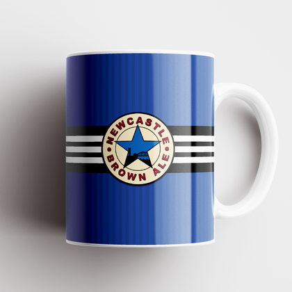 NEWCASTLE CERAMIC MUG 1997 AWAY - TheRetroHut