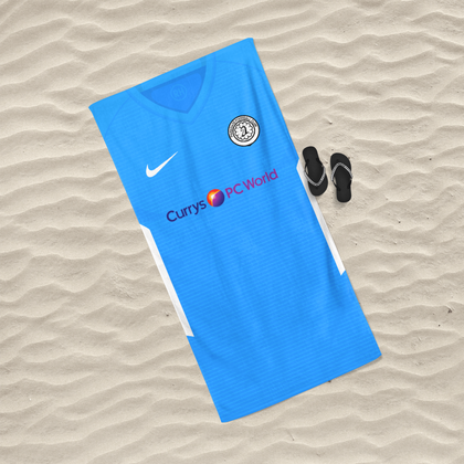 OFFICIAL PARKGATE FC BEACH TOWEL AWAY