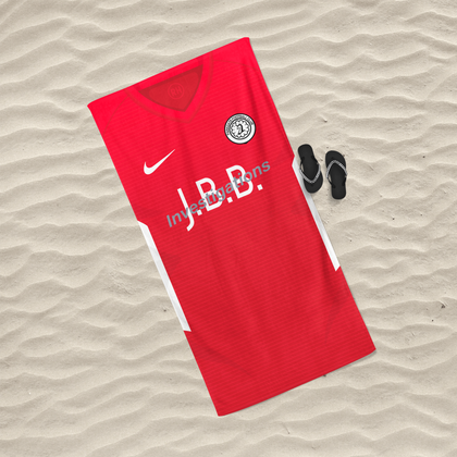 OFFICIAL PARKGATE FC BEACH TOWEL HOME