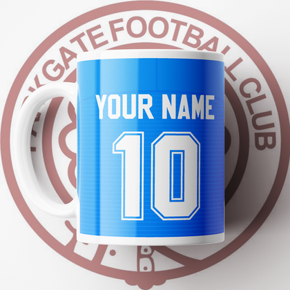 OFFICIAL PARKGATE FC CERAMIC MUG AWAY
