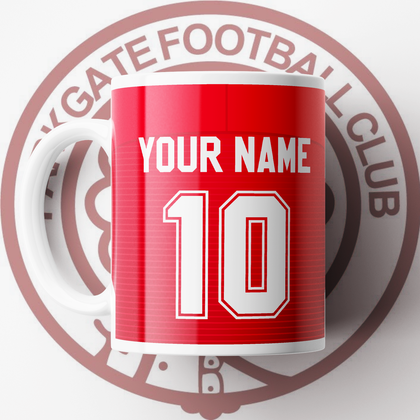 OFFICIAL PARKGATE FC CERAMIC MUG HOME