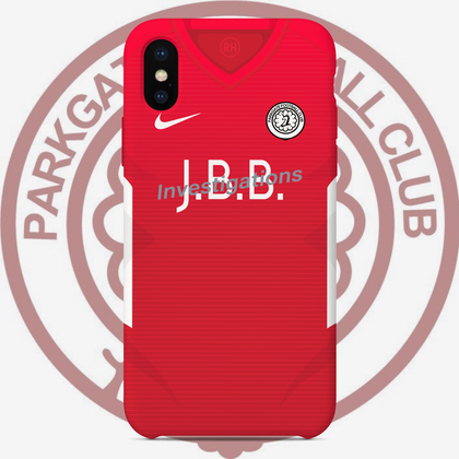 OFFICIAL PARKGATE FC PHONE CASE HOME