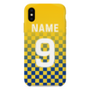 BEESTON JUNIORS OFFICIAL PHONE CASE BLUE/YELLOW BACK