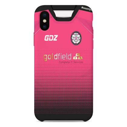 LS27 FC Phone Case Black/Pink - Goldfield Sponsor - TheRetroHut