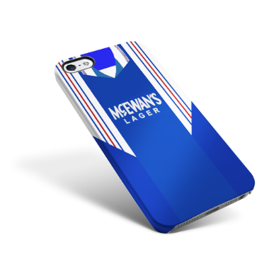 RANGERS PHONE CASE 1998 HOME - TheRetroHut