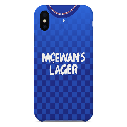 RANGERS 1987 HOME KIT RETRO PHONE CASE - TheRetroHut