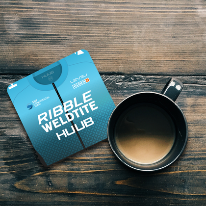 OFFICIAL RIBBLE WELDTITE COASTER - TheRetroHut