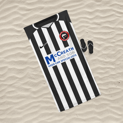 OFFICIAL SPITTAL ROVERS BEACH TOWEL HOME 2020/2021