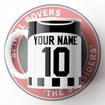 OFFICIAL SPITTAL ROVERS CERAMIC MUG HOME 2020/2021