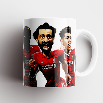 Liverpool Inspired Stars Caricature Mug - TheRetroHut