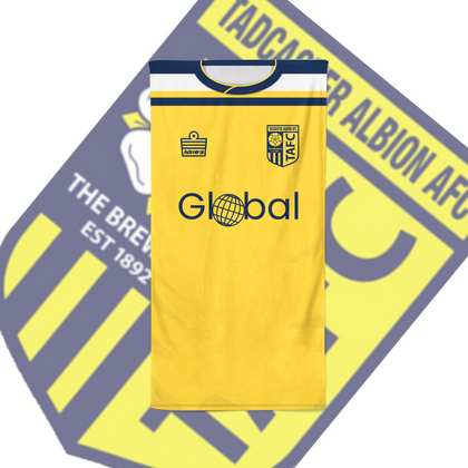 TADCASTER ALBION OFFICIAL BEACH TOWEL HOME - TheRetroHut