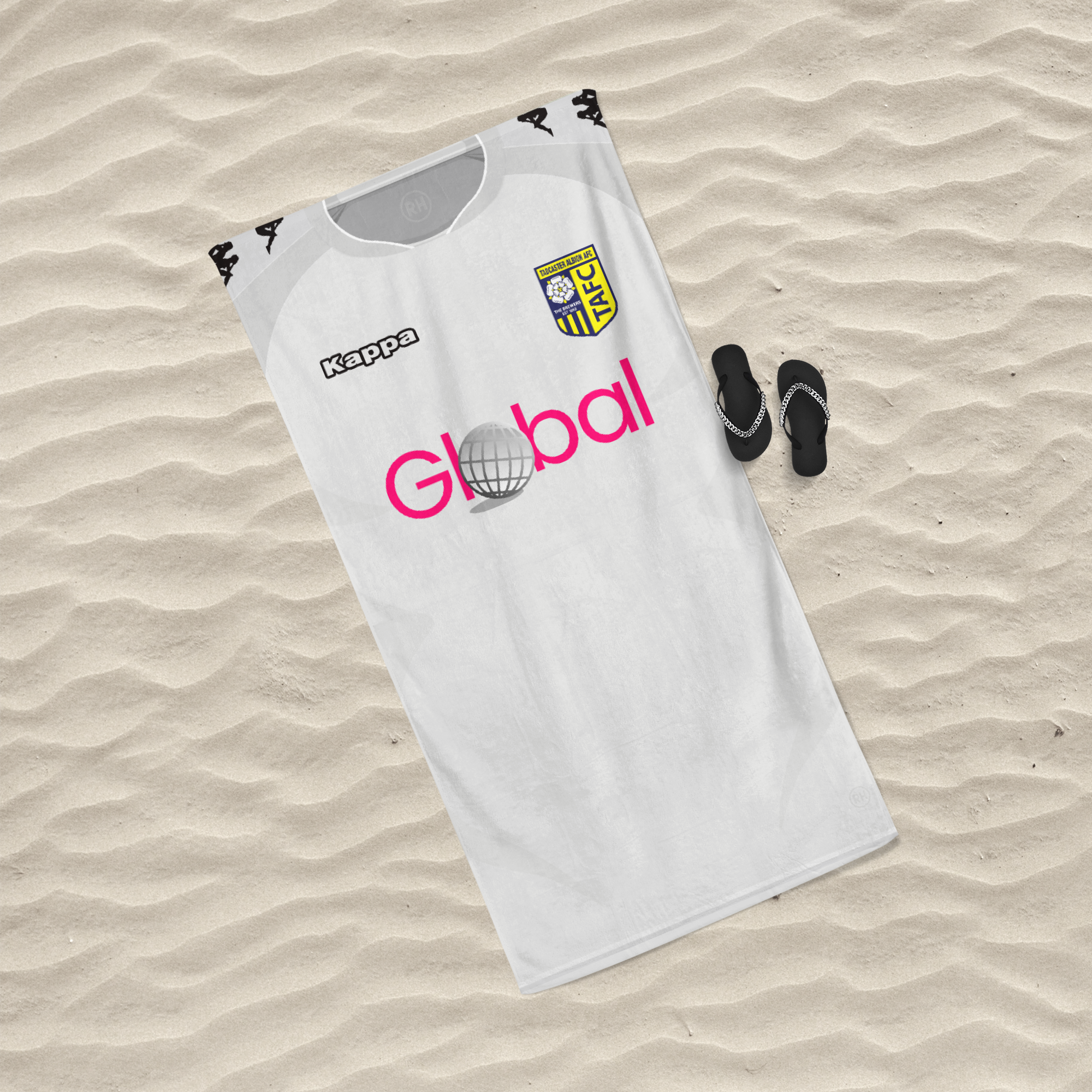 OFFICIAL TADCASTER ALBION BEACH TOWEL AWAY 2020/2021