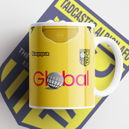OFFICIAL TADCASTER ALBION CERAMIC MUG HOME 2020/2021