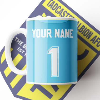 OFFICIAL TADCASTER ALBION CERAMIC MUG HOME GK 2020/2021