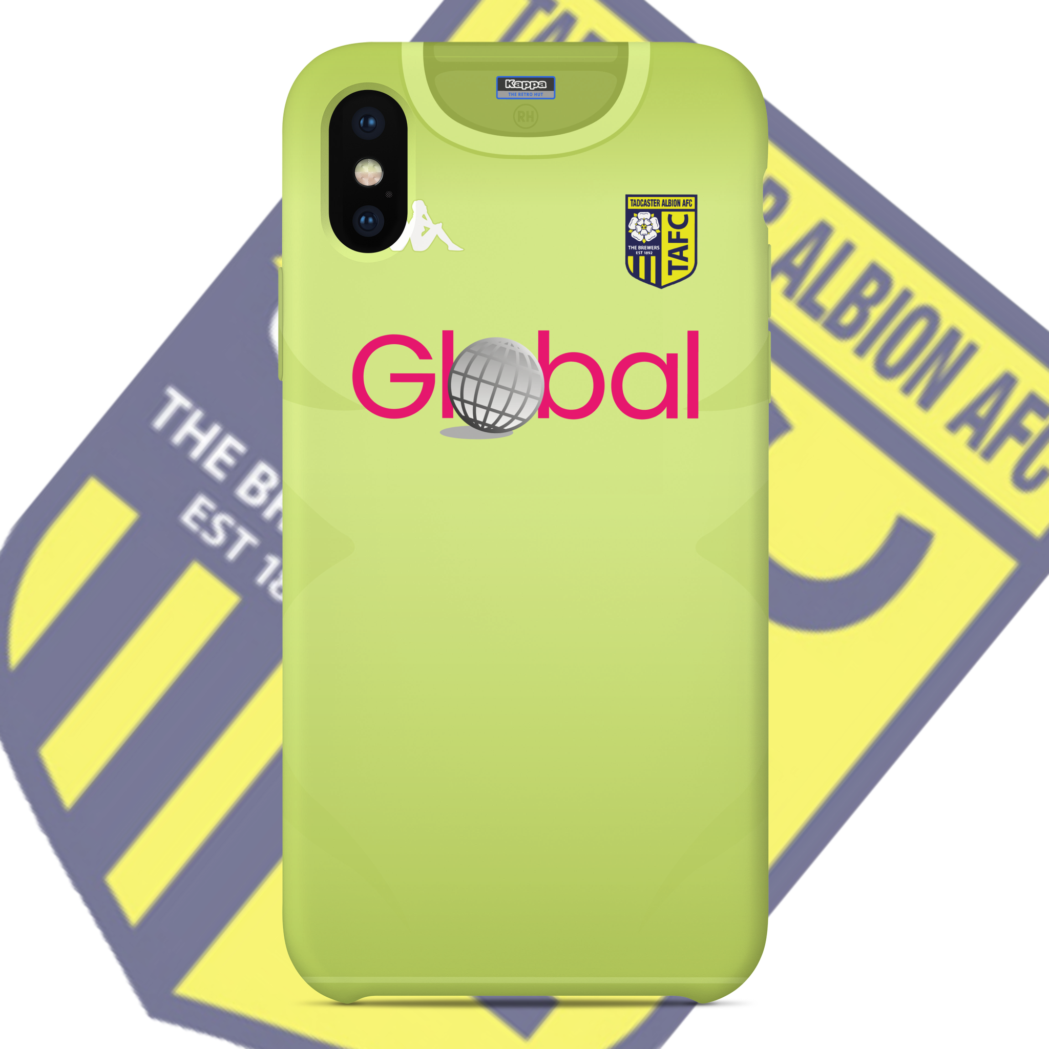 OFFICIAL TADCASTER ALBION PHONE CASE AWAY GK 2020-2021