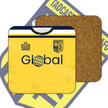 TADCASTER ALBION OFFICIAL COASTER HOME - TheRetroHut
