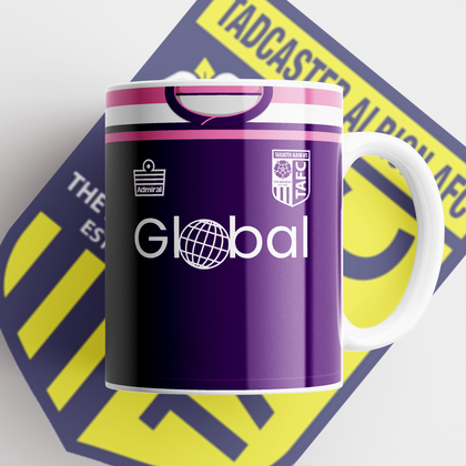 TADCASTER ALBION OFFICIAL CERAMIC MUG AWAY GK - TheRetroHut