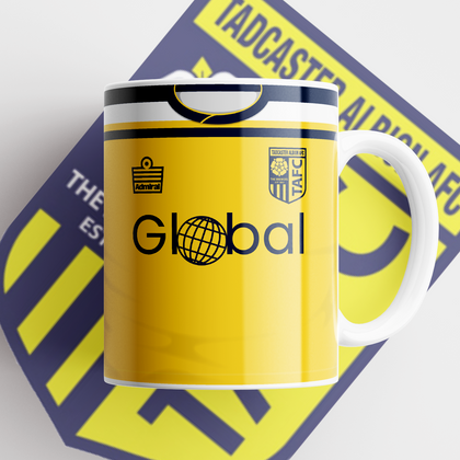 TADCASTER ALBION OFFICIAL CERAMIC MUG HOME - TheRetroHut
